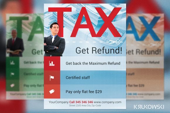 Income Tax Flyer Templates. business print templates restaurant ...