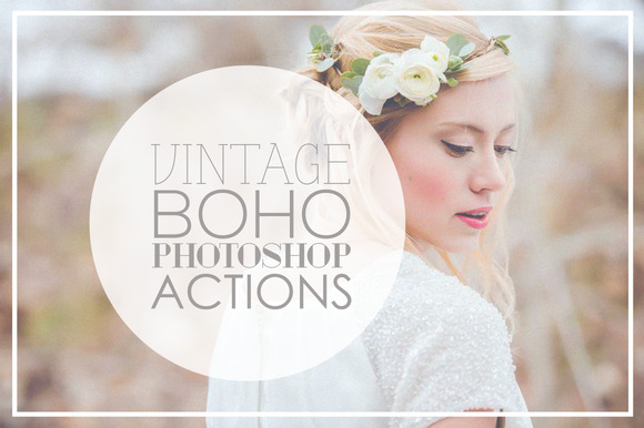 Vintage Wedding Photoshop Actions - Actions - 1