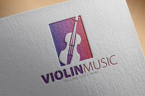 Violin Music Logo