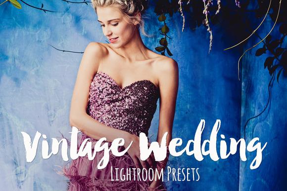 Vintage Wedding Lightroom Presets - Actions - 1
