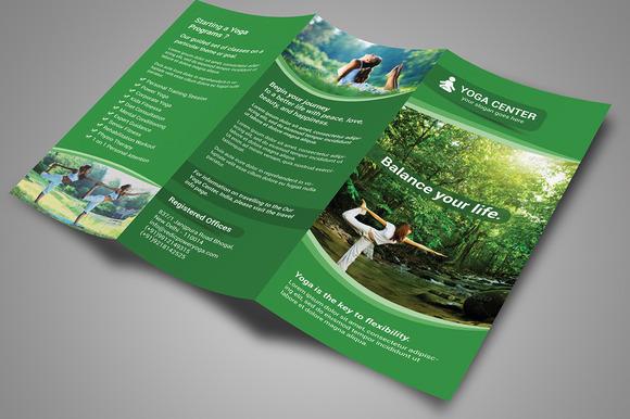 Yoga Tri-Fold Brochure