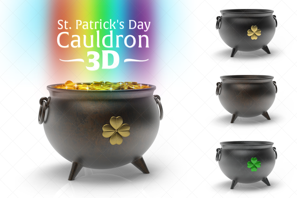 St Patrick S Day Cauldron