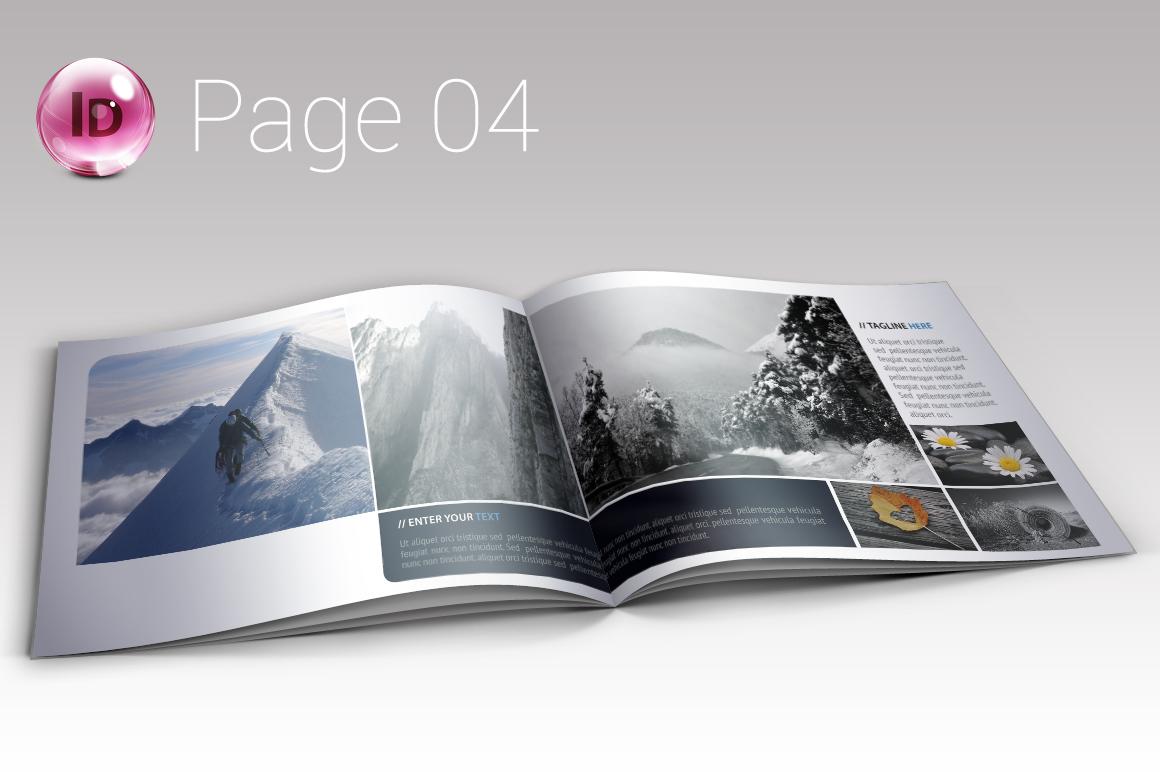 indesign photo album    portfolio
