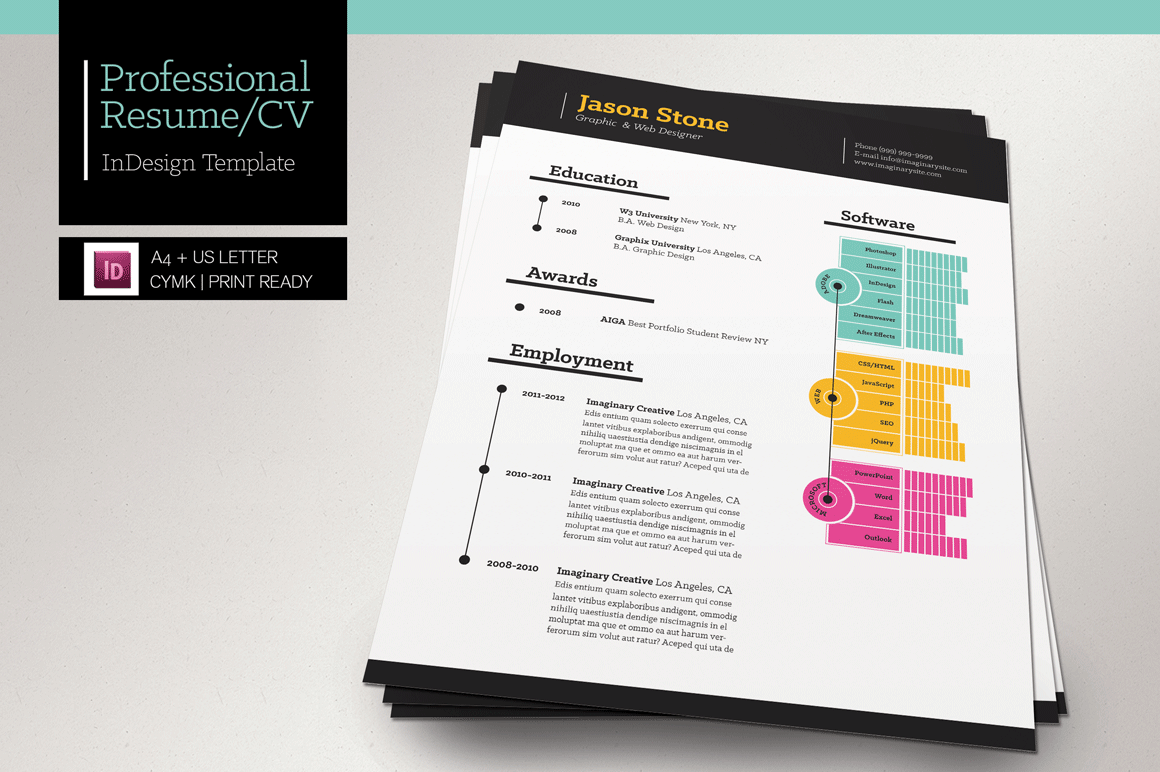 PreviousNext. Previous Image Next Image. Gallery For Creative Professional  Resume Templates
