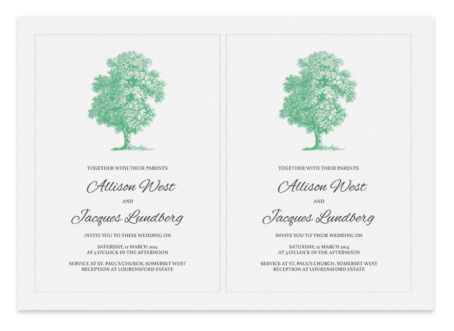 Printable wedding invitation tree invitation templates for Free printable tree wedding invitations