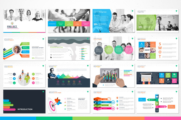 Creativemarket project modern powerpoint template 223351 other creativemarket project modern powerpoint template 223351 ppt pptx 1920 x 1080 512 mb toneelgroepblik Gallery