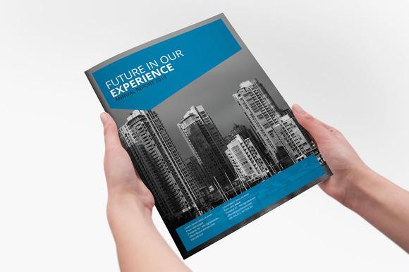 annual report indesign brochure brochure templates on creative market. Black Bedroom Furniture Sets. Home Design Ideas