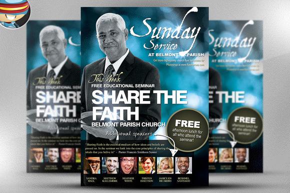 Free Church Flyer Templates Photoshop Idealstalist