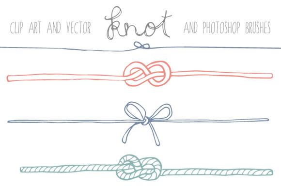 Handdrawn Knot Clip Art Illustrations On Creative Market