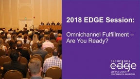 EDGE 2018 Session: Omnichannel Fulfillment - Are You Ready?