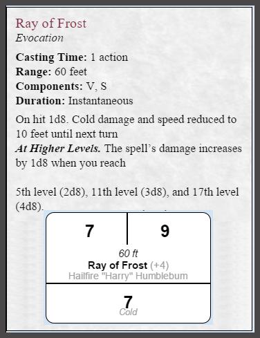 Community Forums: [5e OGL] SRD5 D&D Character Sheet - casting spells