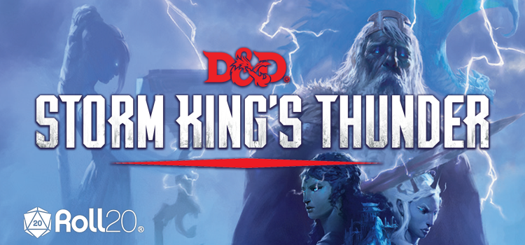 Cover of Storm King's Thunder