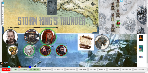 5E Storm Kings Thunder in the Icewind Dales   LFG   Roll20
