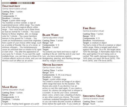 Community Forums: [5e Shaped] 6 9 1+ | Roll20: Online