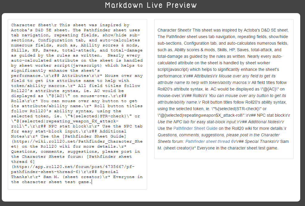 Community Forums: editing sheet json instructions value (markdown ...