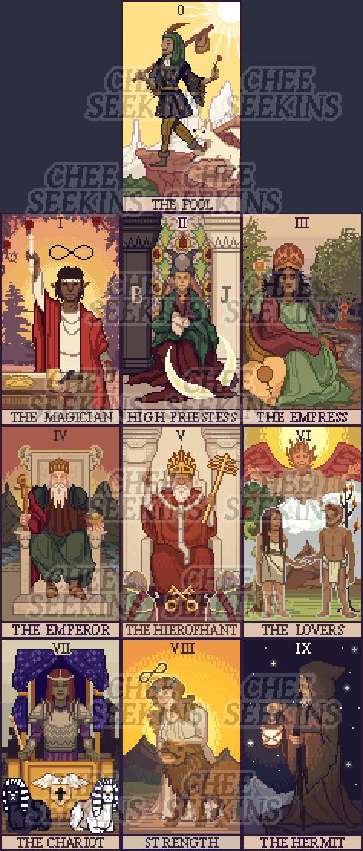 Community Forums: [Add-on] Pixel Tarot Deck | Roll20: Online
