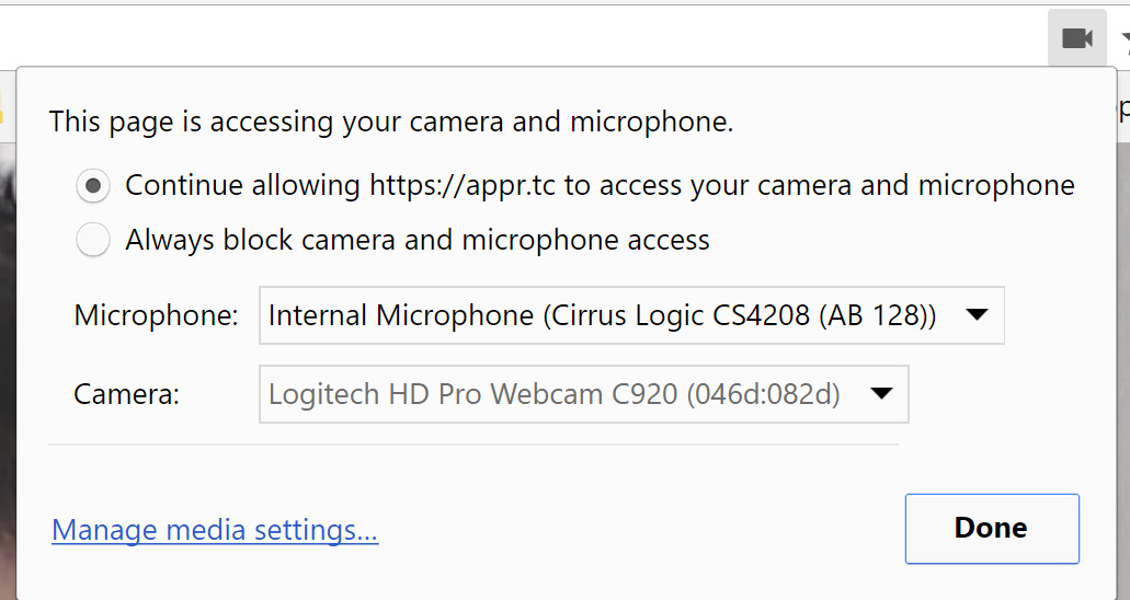 Community Forums: Problem with Camera controls in chrome