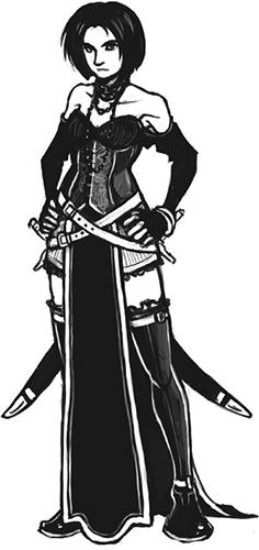 Keela Rathin, Half-Elven Eldritch Knight Med