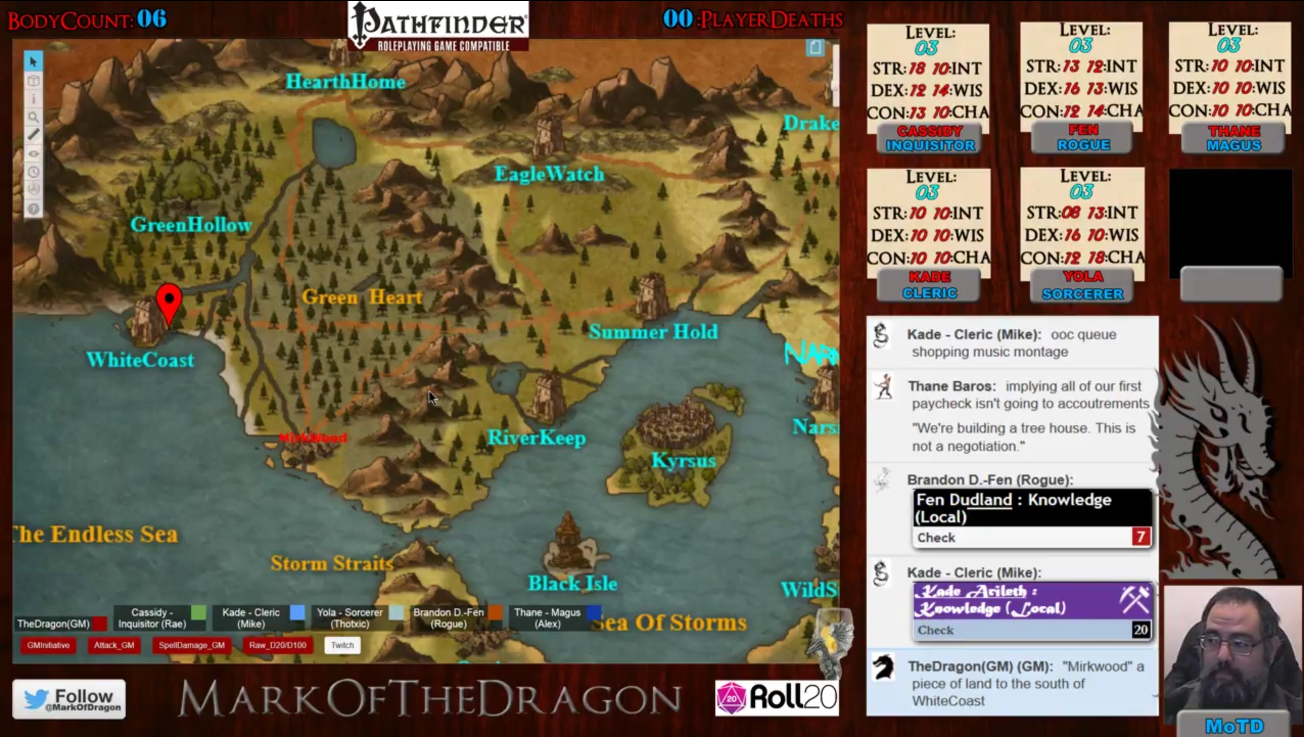 Community Forums: Starting a D&D stream or already on board
