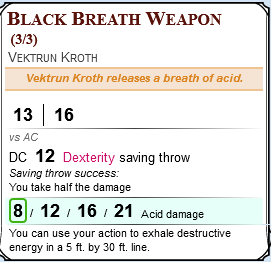Community Forums: Cleaner Breath Weapon Macro? | Roll20