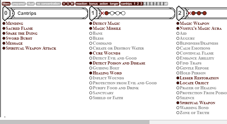 Community Forums: [5e Shaped] | Roll20: Online virtual tabletop