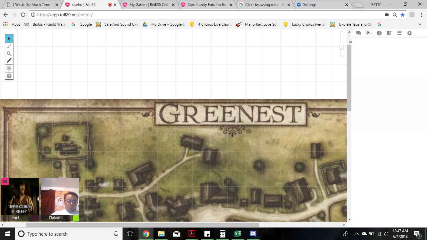 Community Forums: Nothing is available in Journal | Roll20