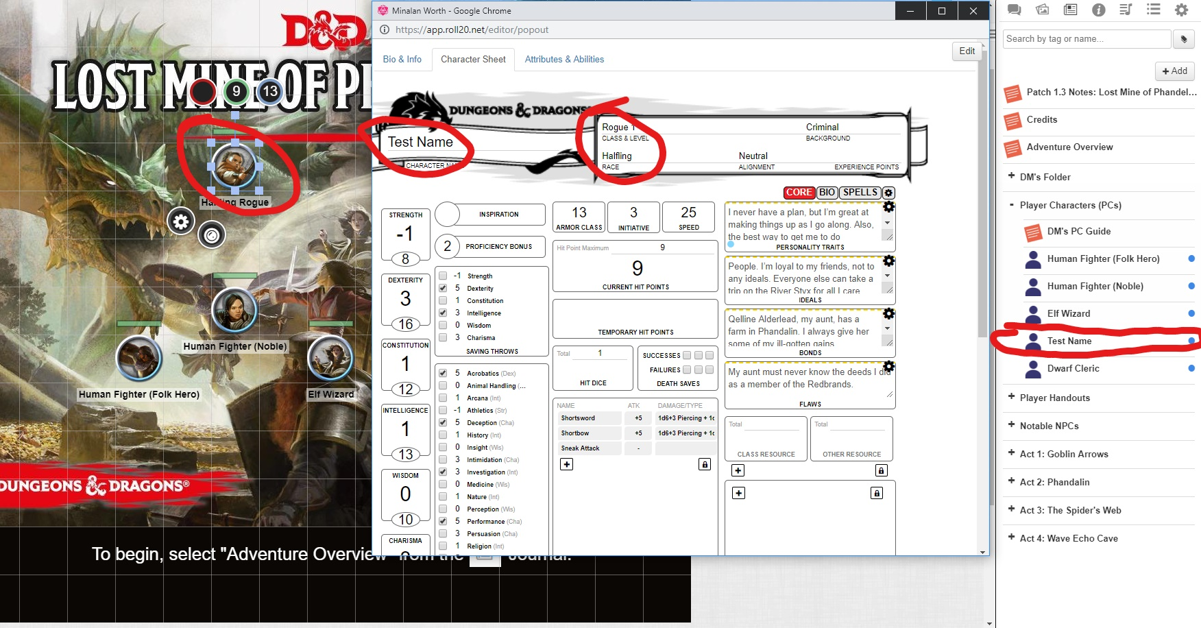 Community Forums: [Help][5e] Tokens dragged from linked
