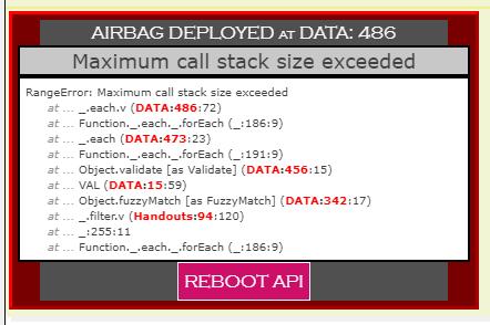 Community Forums: [Update] AirBag js: Reports actual script
