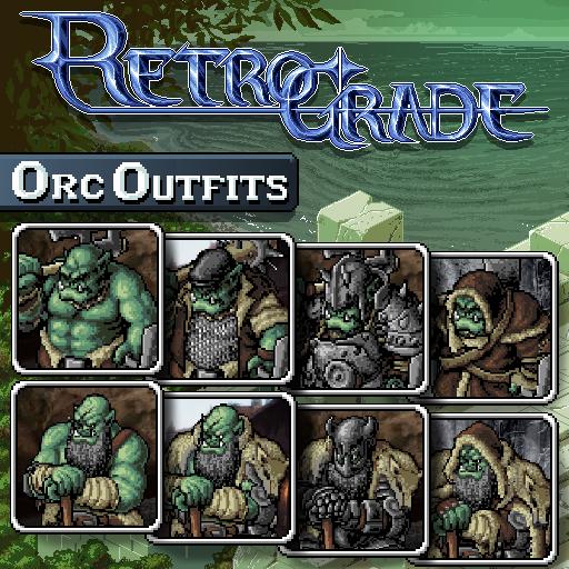 Retrograde Minis - Orc Outfits