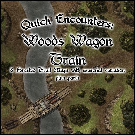 Quick Encounters: Woods Wagon Train
