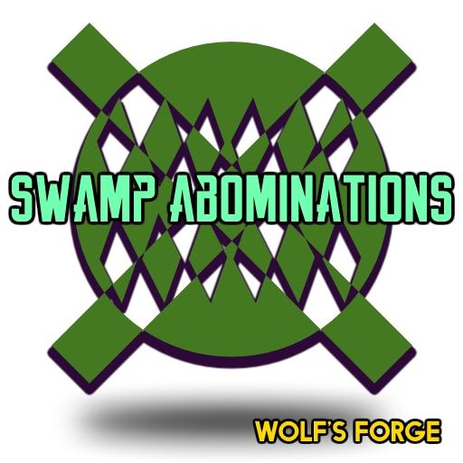 Fantasy Swamp Abominations Token Set