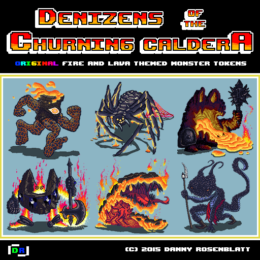 Denizens of the Churning Caldera