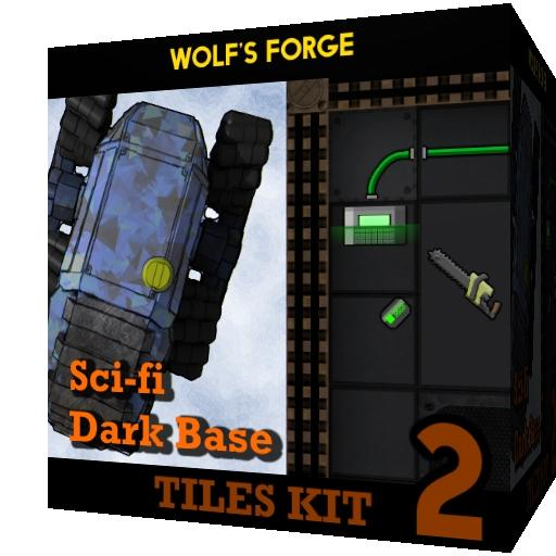 SciFi Dark Base - Tiles Kit 2