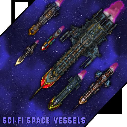Sci-Fi Space Vessels Battlegroup