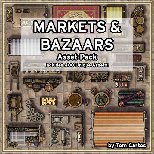 Markets & Bazaars Asset Pack