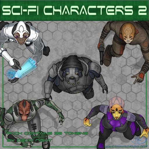 Sci-fi Characters 2