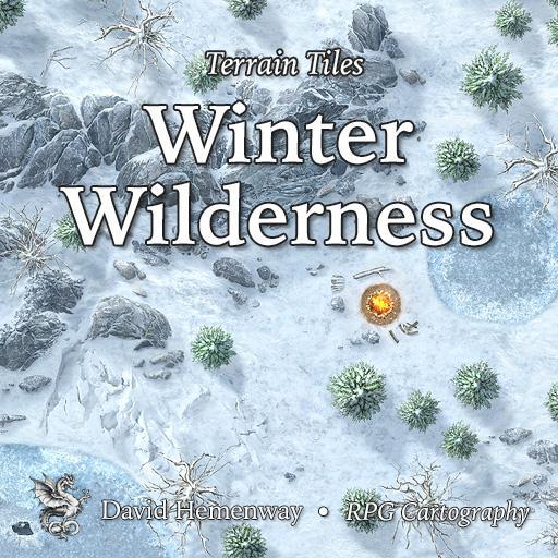 Terrain Tiles Winter Wilderness