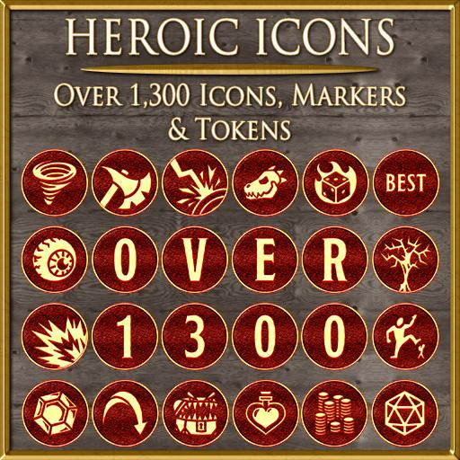 Heroic Icons: Red Dragon