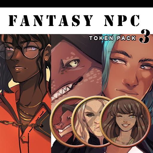 Azu's Fantasy Token Pack 3