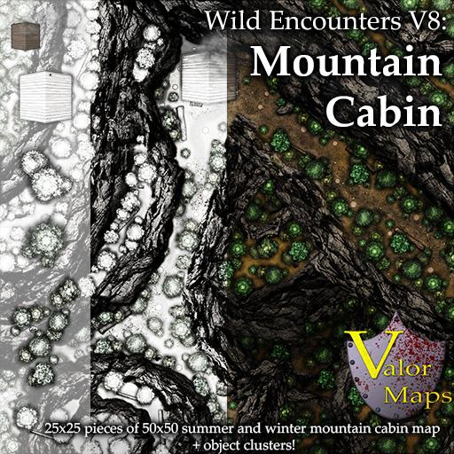 Wild Encounters V8: Mountain Cabin