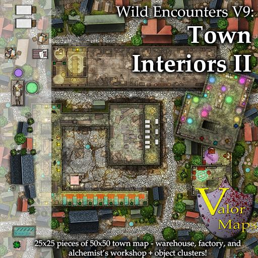 Wild Encounters V9: Town Interiors II