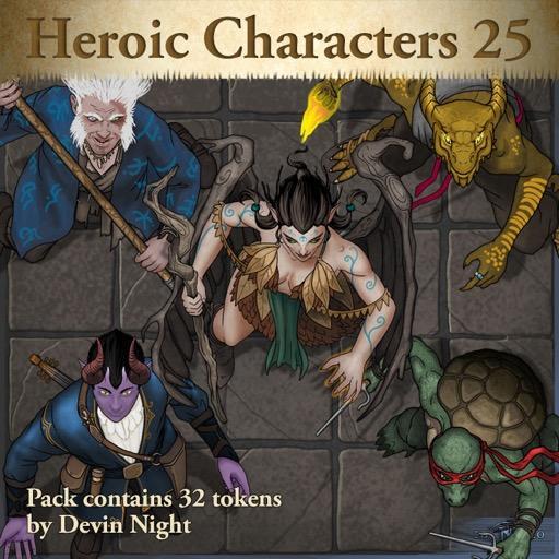 Heroic Characters 25