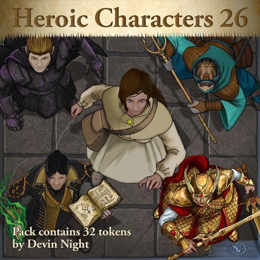 Heroic Characters 26