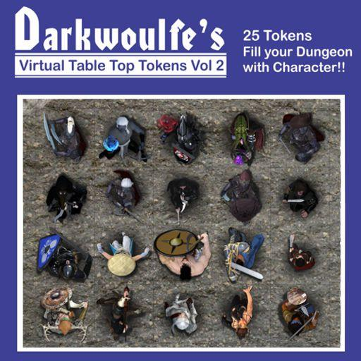 Darkwoulfe's Token Pack Vol2 - Heroes and Villains