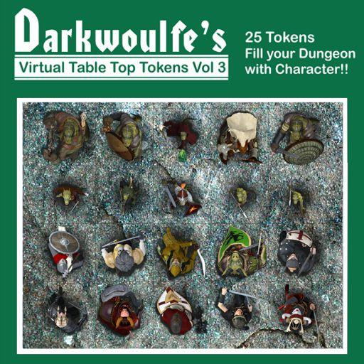 Darkwoulfe's Token Pack Vol3 - Heroes and Villains