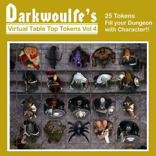 Darkwoulfe's Token Pack Vol4 - Denizens