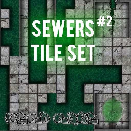 Sewer #2 Tile Set
