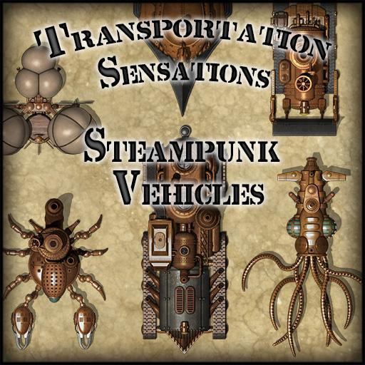 Transportation Sensations: Steampunk Vehicles