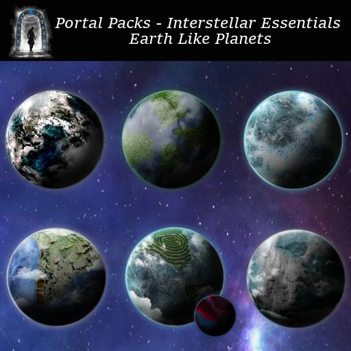 Portal Packs - Interstellar Essentials - Earth Like Planets