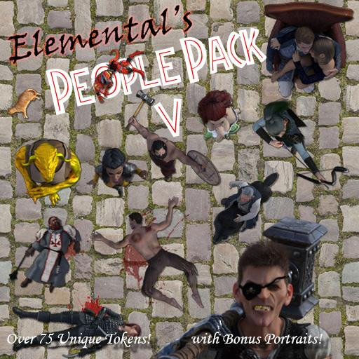 Elemental's People Pack 5